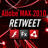 Adobe MAX 2010 RETWEET - Show Logo