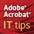 Acrobat IT Tips - Show Logo