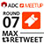 ADC MEETUP ROUND 07 MAX RETWEET - Show Logo