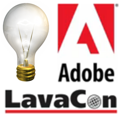 LAVACON 2013: Adobe Thought Leader Interviews - Show Logo