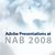 Adobe Presentations at NAB 2008 - Show Logo