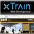 xTrain Web Development - Show Logo